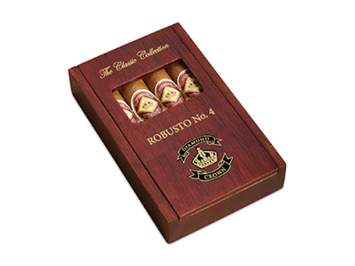 Diamond Crown Classic Collection Cigar Sampler 4 Ct Box