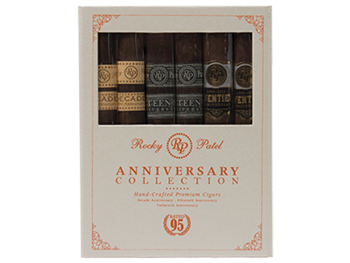 Rocky Patel Anniversary Toro Collection 6 Ct. Cigar Sampler 6.50X52