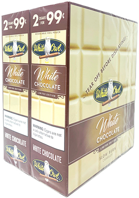 White Owl Cigarillos White Chocolate 30/2