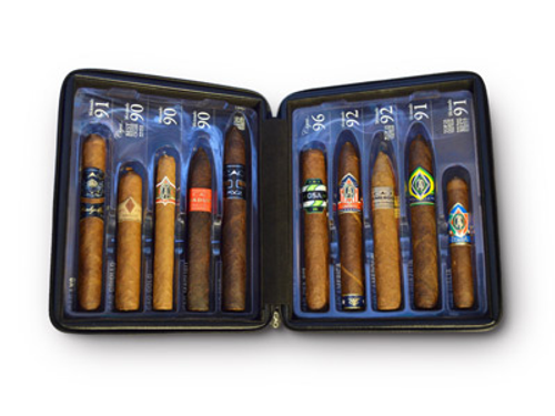 CAO Champions II Collection Cigar Sampler 10 Ct. Travel Humidor