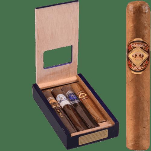 Diamond Crown Royal Collection Cigar Sampler 4 Ct. Pack