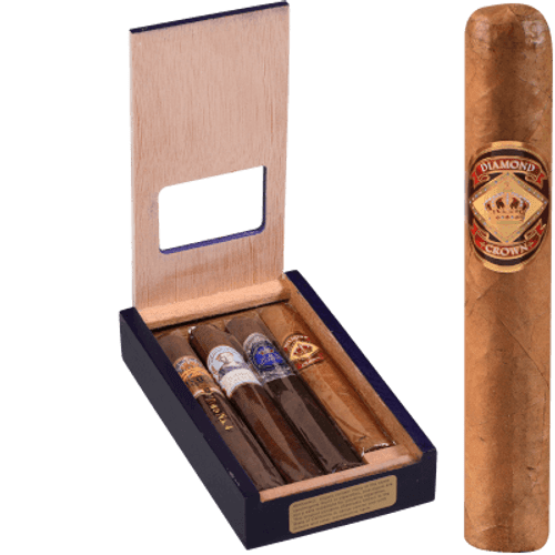 Diamond Crown Royal Collection Cigar Sampler 4 Ct. Pack