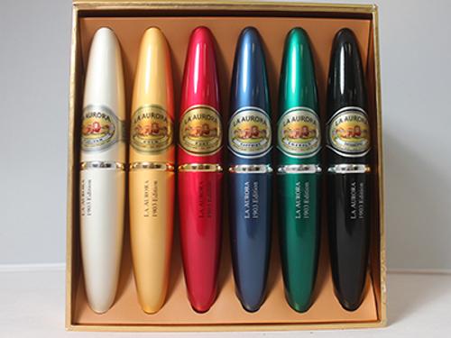 La Aurora Preferidos #2 Tubes Treasure Cigar Sampler 6 Ct. Box 5.00X54
