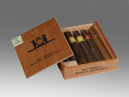 Nat Sherman Robusto Assortment 6 Ct. Box