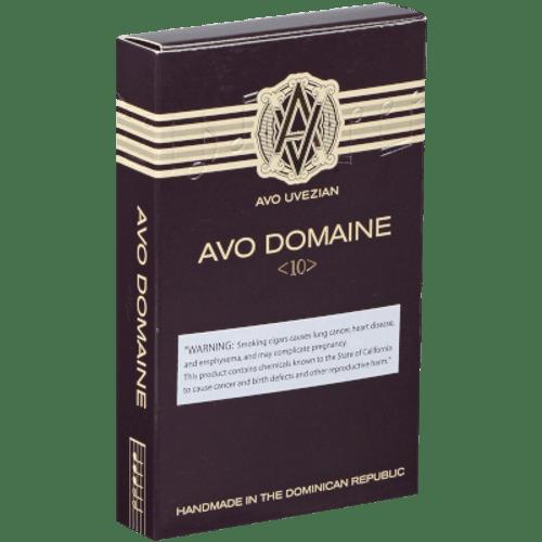 AVO Domaine #10 Robusto 4 Ct. Box 5.00X50