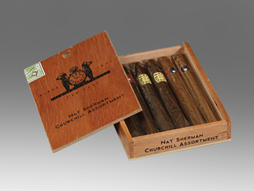 Nat Sherman Churchill Assortment 6 Ct. Box