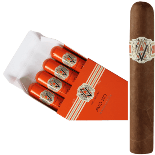 AVO XO Intermezzo Tubos Robusto 4 Ct. Box 5.50X50