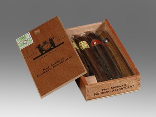 Nat Sherman Figurado Assortment 4 Ct. Cigar Sampler Box