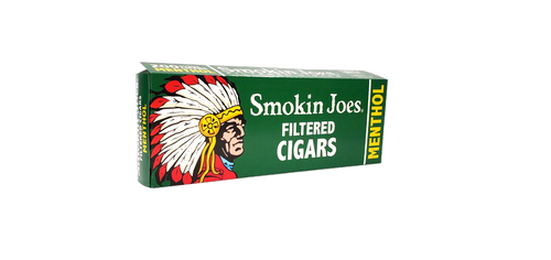 Smokin Joes Filtered Cigars Menthol