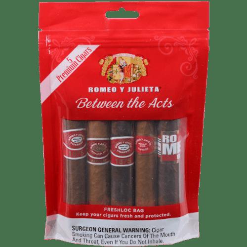 Romeo Y Julieta Freshloc Bag 5 Ct. Cigar Sampler Pack