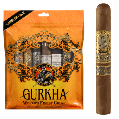 Gurkha Toro Cigar Sampler 6 Ct. Pack