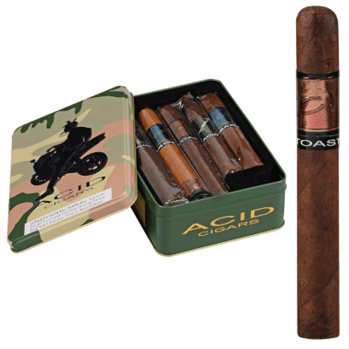 Acid Collector's Tin Cigar Sampler 14 Ct. Box