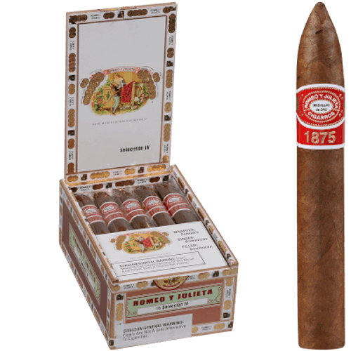 Romeo Y Julieta 1875 Seleccion IV 15 Ct. Box 6.12X54