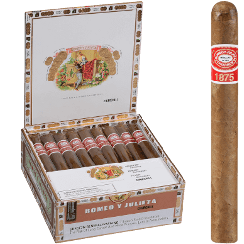 Romeo Y Julieta 1875 Churchill EMS 25 Ct. Box 7.00X50