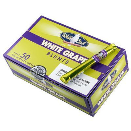 White Owl Blunts Cigars White Grape 50ct