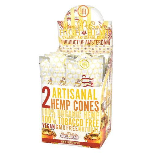 High Hemp Organic Artisanal Cones 15/2