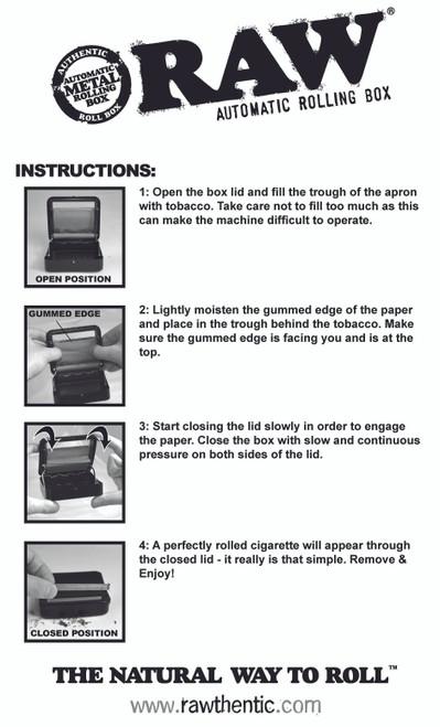 RAW Rawtomatic Rolling Box
