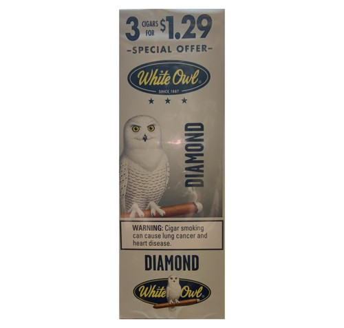 White Owl Cigarillos Diamond 15/3