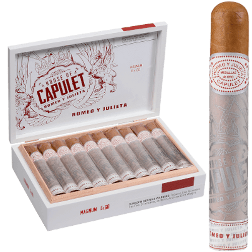 Romeo Y Julieta House Of Capulet Magnum Double Toro 20 Ct. Box 6.00X60