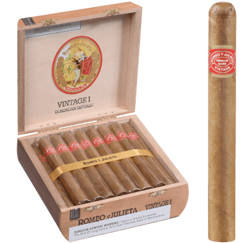Romeo Y Julieta Vintage #1 Natural Lonsdale 25 Ct. Box 6.00X43