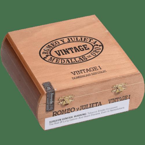 Romeo Y Julieta Vintage #1 Natural Lonsdale 25 Ct. Box 6.00X43