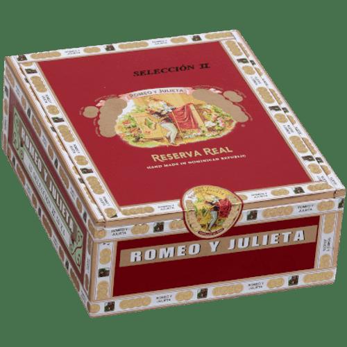 Romeo Y Julieta Reserva Real Seleccion Crystal II 10 Ct. Glass Tubes Box