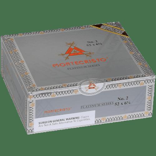 Montecristo Platinum No. 2 Belicoso 27 Ct. Box 6.12X52