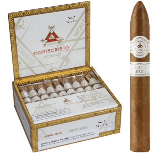 Montecristo White No. 2 Belicoso 27 Ct. Box 6.12X52