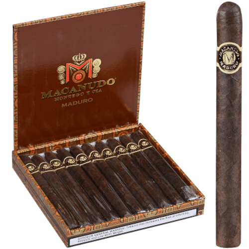 Macanudo Maduro Prince Philip Churchill 10 Ct. Box 7.50X49