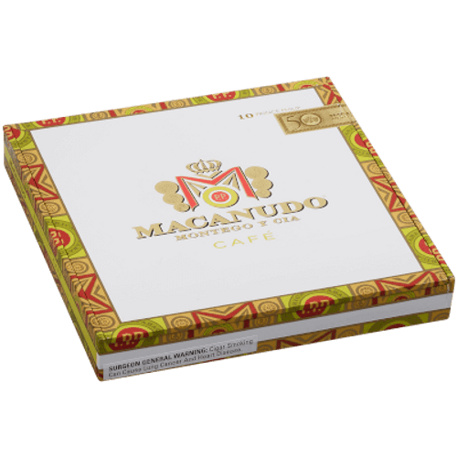 Macanudo Cafe Prince Philip Churchill 10 Ct. Box 7.50X49