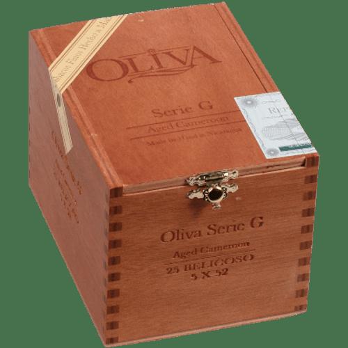 Oliva Serie G Cameroon Belicoso 25 Ct. Box 5.00X52