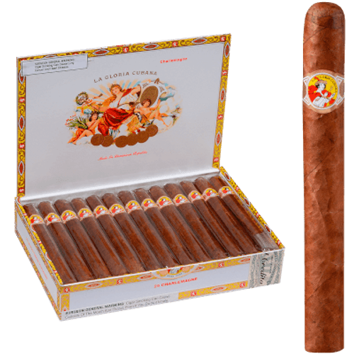 La Gloria Cubana Charlemagne Natural Churchill 25 Ct. Box 7.25X54