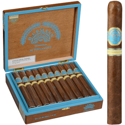 H. Upmann Made By Aj Fernandez Churchill 20 Ct. Box 7.00X54