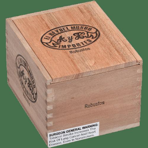El Rey Del Mundo Oscuro Robusto 20 Ct. Box 5.00X54