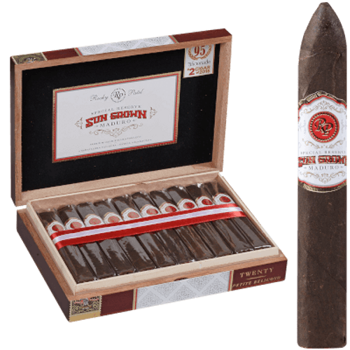 Sun Grown by Rocky Patel Maduro Petite Belicoso 20 Ct. Box 5.50X52