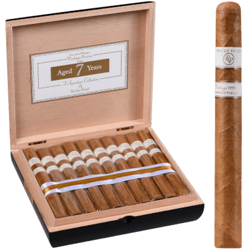 Rocky Patel Vintage 1999 Connecticut Churchill 20 Ct. Box 7.00X48