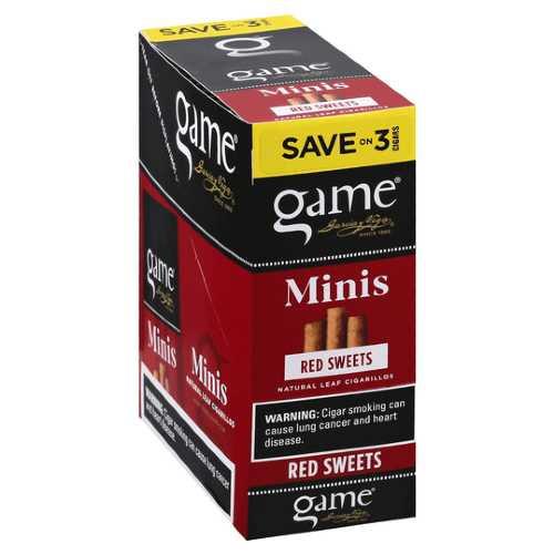 Game Mini Foil Cigarillos 15/3