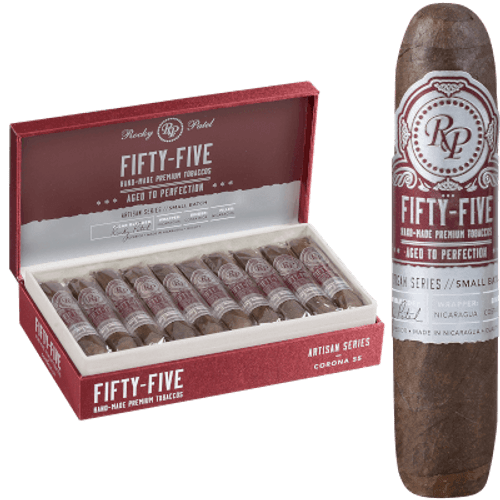 Rocky Patel Fifty-Five Cigars Corona 20 Ct. Box 4.00X55