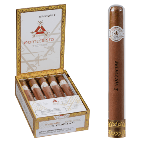 Montecristo White Seleccion I Cigar (Churchill) Tube 10 Ct. 7.00x50