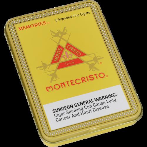Montecristo Memories Cigars 5/6 Tins 4.00X33
