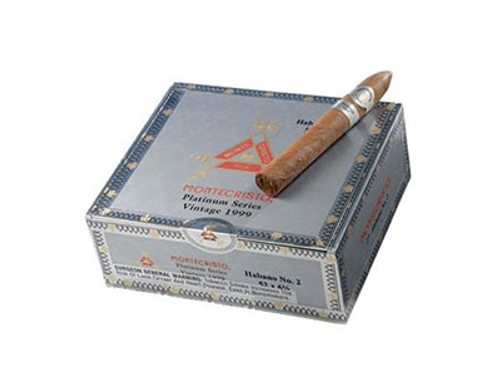 Montecristo Platinum No.3 Cigar Corona 27 Ct. Box 5.50X44