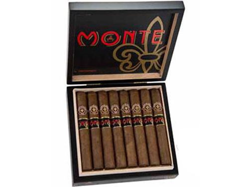 Monte By Montecristo Monte Conde (Pig Tail) Cigar Corona 16 Ct. Box 5.50X48