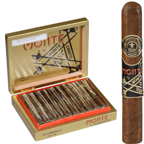 Monte By Montecristo Monte By Aj Fernandez Cigars Corona 20 Ct. Box