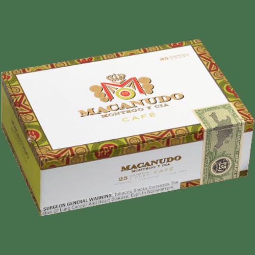 Macanudo Cafe Hampton Court Tubos Cigar Corona 25 Ct. Box 5.50X42