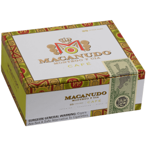 Macanudo Cafe Baron De Rothschild Cigar Lonsdale  25 Ct. Box 6.50X42
