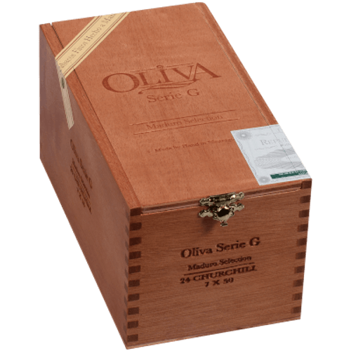 Oliva Serie G Maduro Cigars Churchill 24 Ct. Box 7.00X50