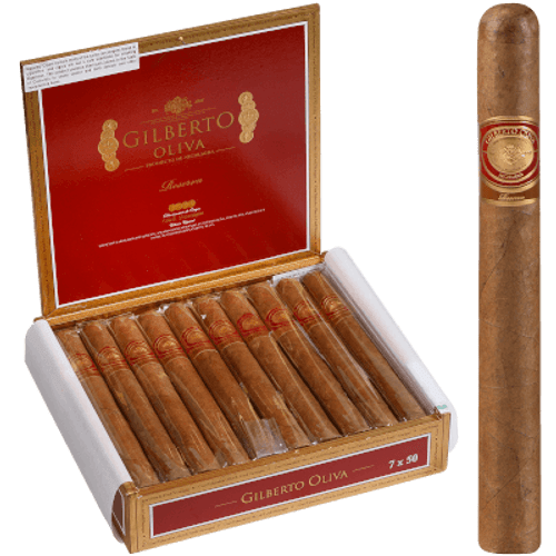 Gilberto Oliva Reserva Cigar Churchill 20 Ct. Box 7.00X50