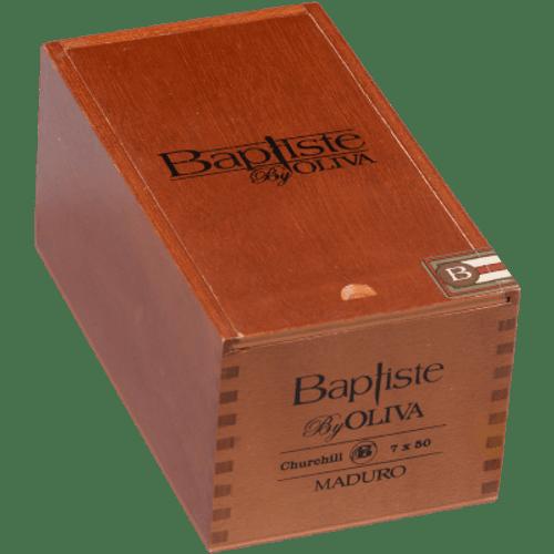Baptiste by Oliva Cigars Churchill Maduro 20 Ct. Box 7.00X50
