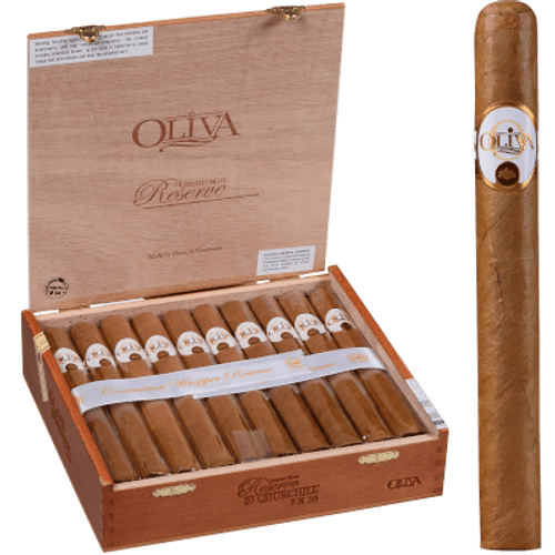 Oliva Connecticut Reserve Cigars Churchill 20 Ct. Box 7.00X50