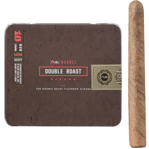 Nub Nuance Double Roast  Cigarillo 5/10 Tins 4.00X30